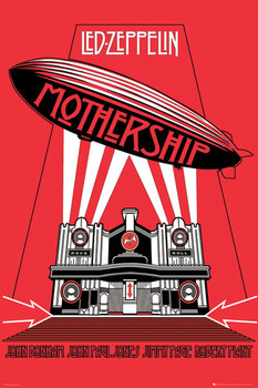 Led Zeppelin – mothership Плакат
