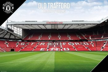 Manchester United - Old Trafford 17/18 Плакат