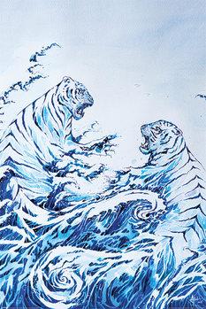 Marc Allante - The Crashing Waves Плакат