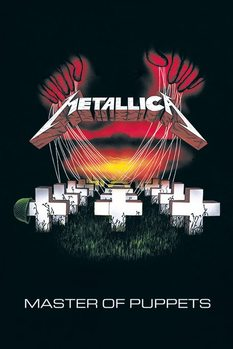Metallica - master of puppets Плакат