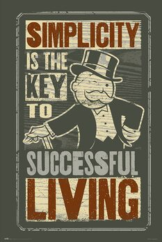 Monopoly - Simplicity Плакат