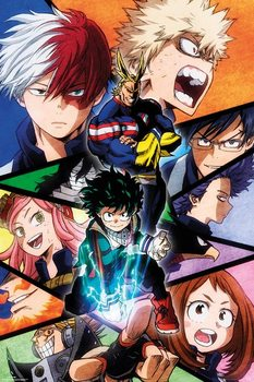 My Hero Academia Плакат