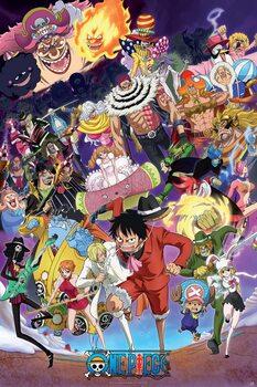 One Piece - Big Mom saga Плакат