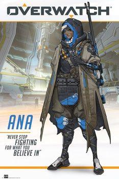 Overwatch - Ana Плакат
