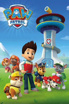 Paw Patrol - Team Плакат