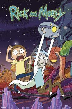 Rick & Morty - Planet Плакат