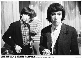 Rolling Stones - New York 1964 Плакат