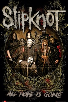 Slipknot - is gone Плакат