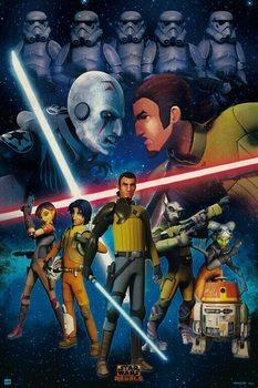 Star Wars - Rebels Плакат