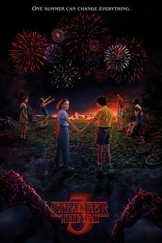 Stranger Things - One Summer Плакат
