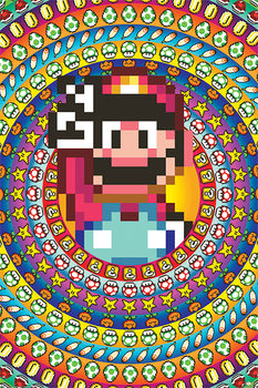 Super Mario - Power Ups Плакат