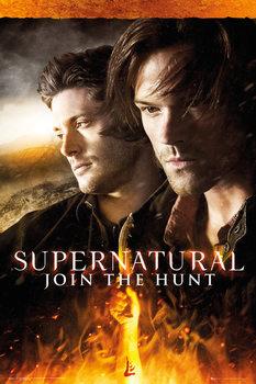 Supernatural - Fire Плакат