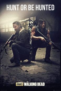 The Walking Dead - Hunt Плакат
