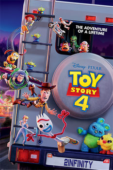 Toy Story 4 - Adventure Of A Lifetime Плакат