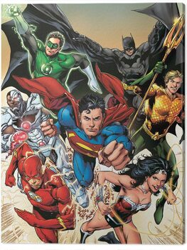 Платно Justice League - Attack