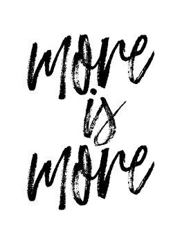 Платно More is more