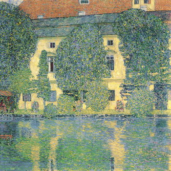Платно The Schlosskammer on the Attersee III, 1910
