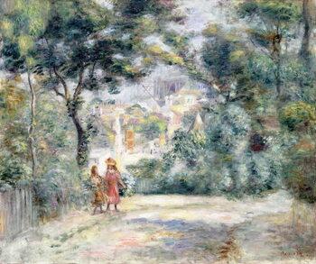 Платно View of Sacre-Coeur, 1905