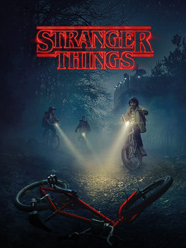 Платно  Stranger Things - Bike