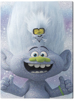 Trolls World Tour - Guy Diamond and Tiny Принти на полотні