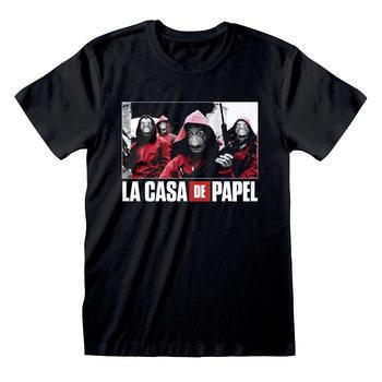 Money Heist (La Casa De Papel) - Photo And Logo Риза