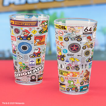 Склянки Mario Kart