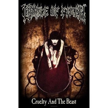 Текстильні плакати Cradle Of Filth - Cruelty And The Beast