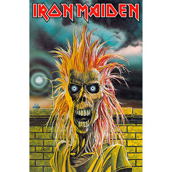 Текстильні плакати Iron Maiden - Eddie