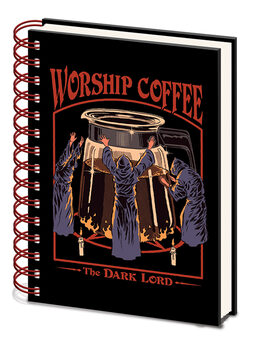 Steven Rhodes - Worship Coffee/Тетрадки