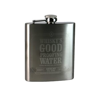 Пляшка Фляга - Peaky Blinders - Whiskey's Good
