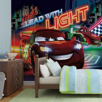 Disney Cars Lightning McQueen Bernoulli Фотошпалери