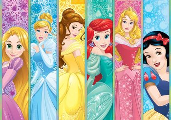 Disney Princesses Aurora Belle Ariel Фотошпалери