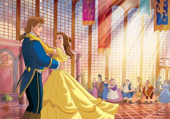 Disney Princesses Belle Beauty Beast Фотошпалери