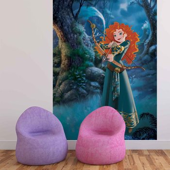 Disney Princesses Merida Brave Фотошпалери
