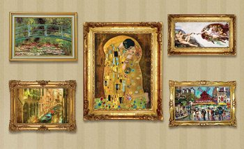 Paintings Art Luxury Фотошпалери