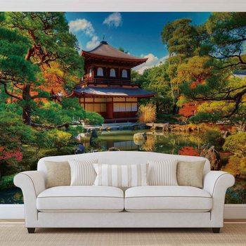 Temple Zen Japan Culture Фотошпалери