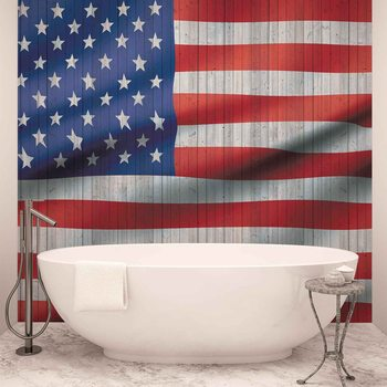 USA American Flag Фотошпалери