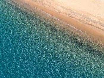 Aarial mediterranean beach фототапет