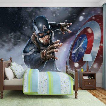 Avengers  - Captain America фототапет