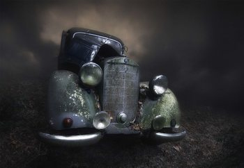 Benz фототапет