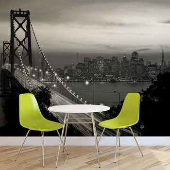 City Skyline Golden Gate Bridge фототапет
