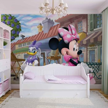 Disney Minnie Mouse фототапет