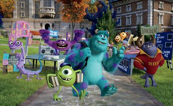 Disney Monsters Inc фототапет
