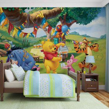 Disney Winnie Pooh Piglet Tigger Eeyore фототапет