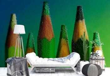 Green фототапет