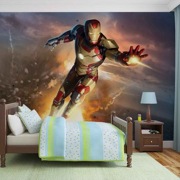 Iron Man Marvel Avengers фототапет