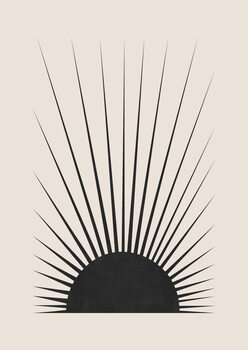 Minimal Sun фототапет