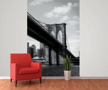 New York - Brooklyn Bridge Фото-тапети