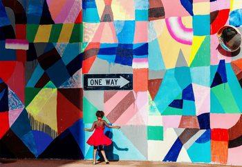 One Way фототапет