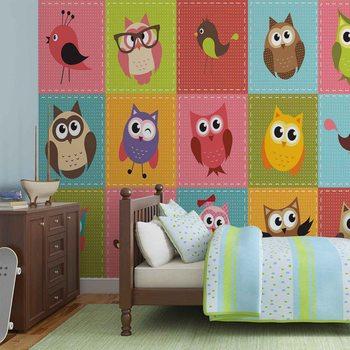 Owls фототапет